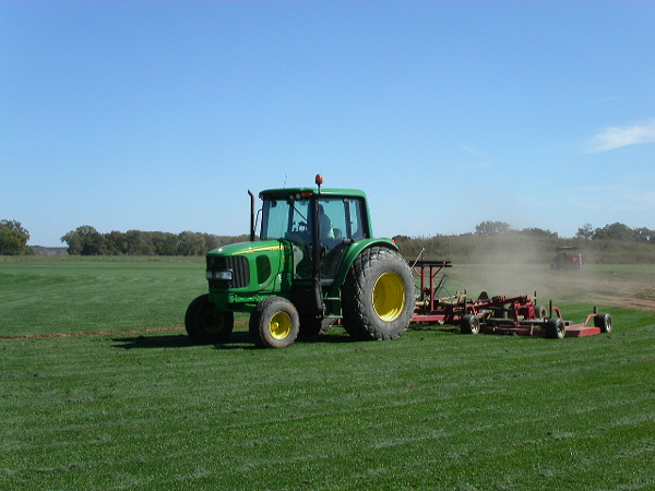 specialized equipment utilized for precision mowing